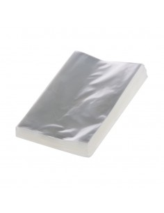 Bolsas de Celof/án Transparente 5 x 24 cm con Fuelle y Base Cuadrada Polipropileno 100 Unidades DE 8